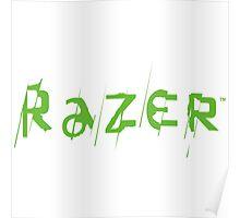 Razer Logo   Text Poster
