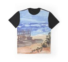 If you are lucky enough to be at the beach... Graphic T-Shirt