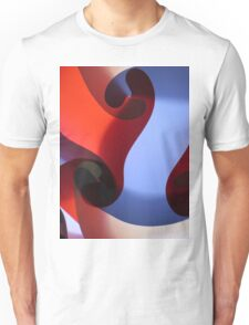 Red, white, and blue Unisex T-Shirt