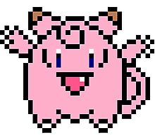 8 bit Clefairy Photographic Print