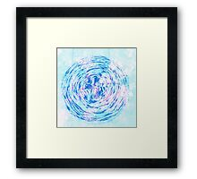 Hand Dyed Hot Cakes Framed Print