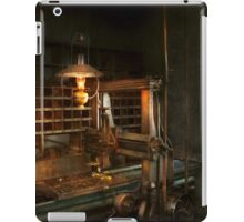 Machinist - At the millers  iPad Case/Skin