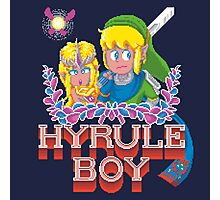Hyrule Boy Photographic Print