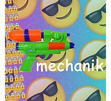 Mechanik Comic Sans Photographic Print