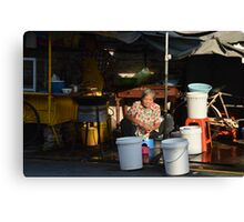 Campbell Market, Georgetown, Penang Canvas Print