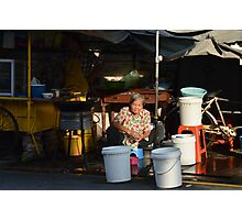Campbell Market, Georgetown, Penang Photographic Print