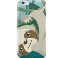 Hang in There, Little Sloth iPhone Case/Skin