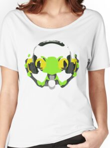Lùcio DJ frog Women's Relaxed Fit T-Shirt