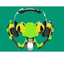 Lùcio DJ frog Photographic Print