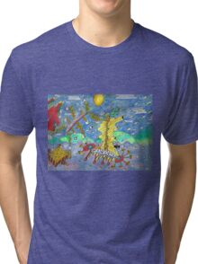 Chips Voyage Tri-blend T-Shirt