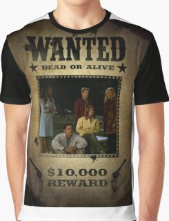Buffy Scooby Gang Wanted Graphic T-Shirt