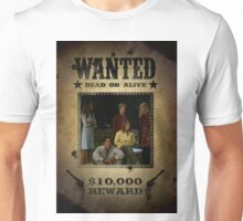 Buffy Scooby Gang Wanted Unisex T-Shirt