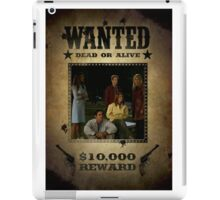 Buffy Scooby Gang Wanted iPad Case/Skin