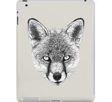 Fox Head Ink Drawing iPad Case/Skin