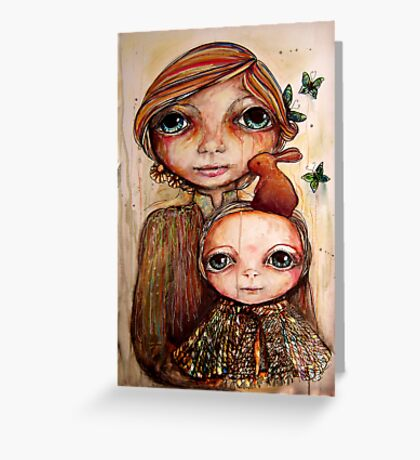 Kiss Away My Tears Greeting Card