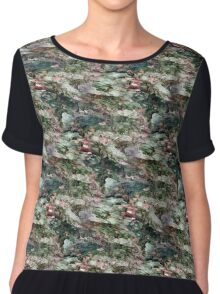 Spotted Rotted in Decayed Glade Chiffon Top