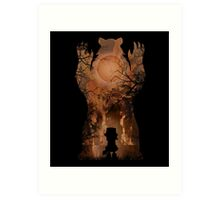 Annie - Burn in Fire Art Print