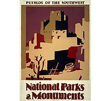 Pueblos of the Southwest Photographic Print