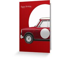Mini Cooper 'S' Works (1964) Greeting Card