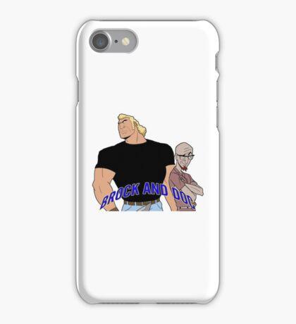 Brock & Doc iPhone Case/Skin
