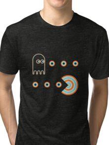 Pac & Ghost Tri-blend T-Shirt