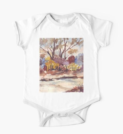 View across the road One Piece - Short Sleeve