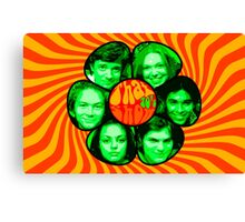 That 70's show poster own design psychedelic Canvas Print