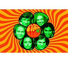 That 70's show poster own design psychedelic Photographic Print