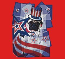 Puggy 4th of July Take 2 Kids Clothes