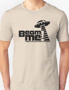 Beam me up V.3.2 (black) Unisex T-Shirt