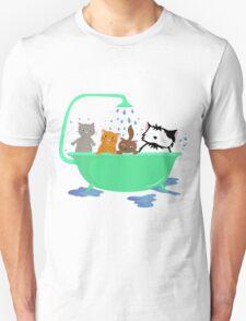 Cats in bath T-Shirt