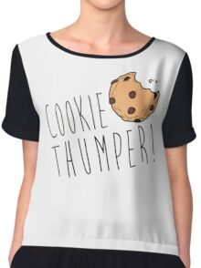 Yolandi Vi$$er - Cookie Thumper! Chiffon Top