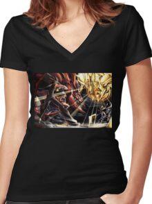 Yu-Gi-Oh! Osiris Women's Fitted V-Neck T-Shirt
