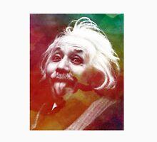 Albert Einstein dot watercolour portrait Unisex T-Shirt