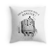 Hamster! Throw Pillow