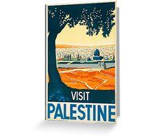 Visit Palestine Greeting Card