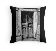 No One Was Home Throw Pillow