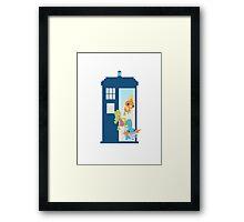 ORAS TARDIS Framed Print