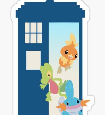 ORAS TARDIS Sticker
