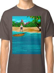 MONKEY ISLAND BEACH Classic T-Shirt