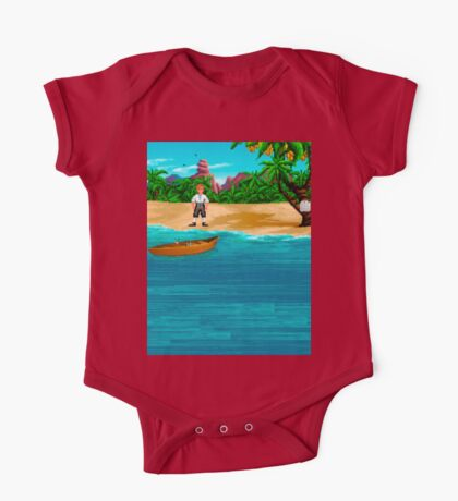 MONKEY ISLAND BEACH One Piece - Short Sleeve
