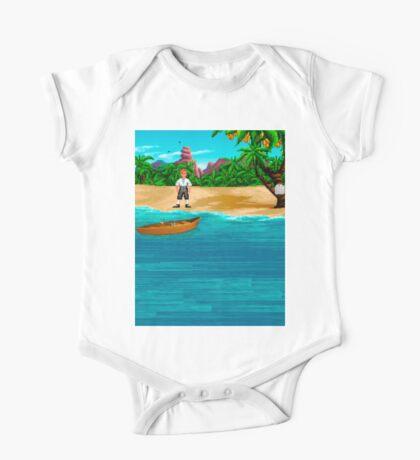 MONKEY ISLAND BEACH One Piece - Short Sleeve