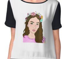 Girl meets World: Flower Girl Chiffon Top