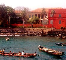 Goree Island, Senegal - Print by WonderMeMosaics