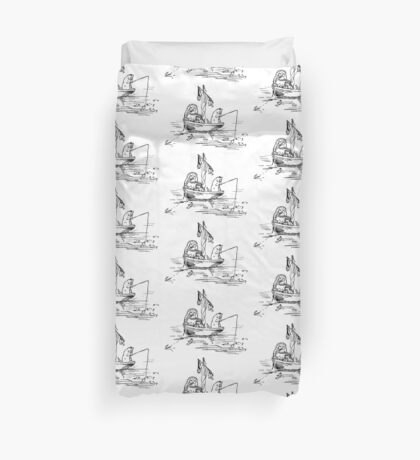 The Owl and The Pussycat Beatrix Potter Duvet Cover