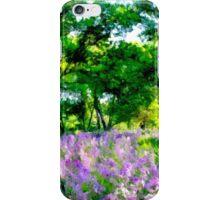 Lavender Grove - Tall iPhone Case/Skin