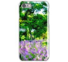 Lavender Grove - Tall iPhone Case/Skin