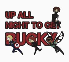 We're Up All Night To Get Bucky by no1silver