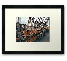 All Shipshape Framed Print