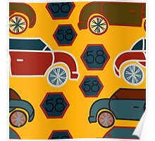 Antique Cars Poster